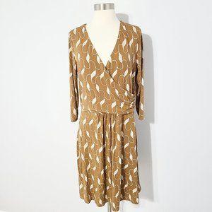 Boden elena faux wrap dress